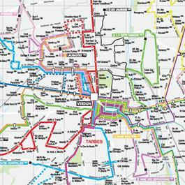 Le réseau de bus Alezan de Tarbes